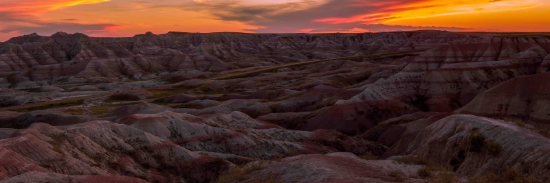 Badlands Afterglow