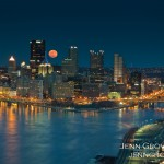 March 2011 Super Moon Pittsburgh