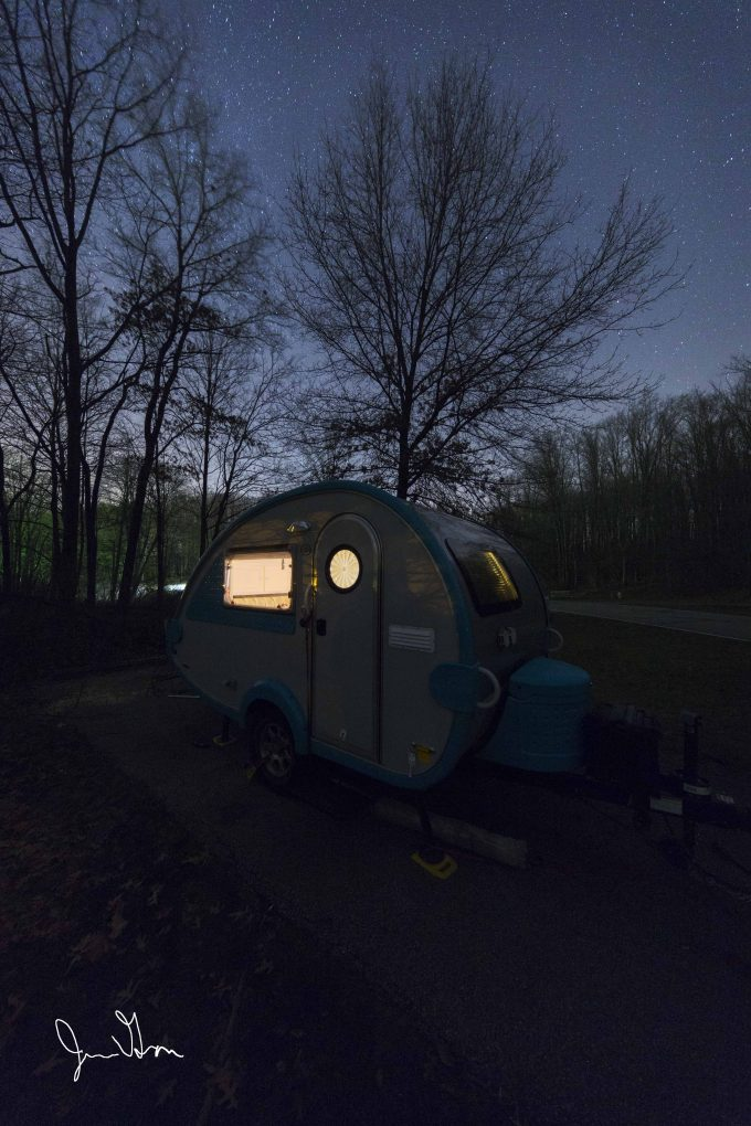 Winter Camping at Punderson State Park