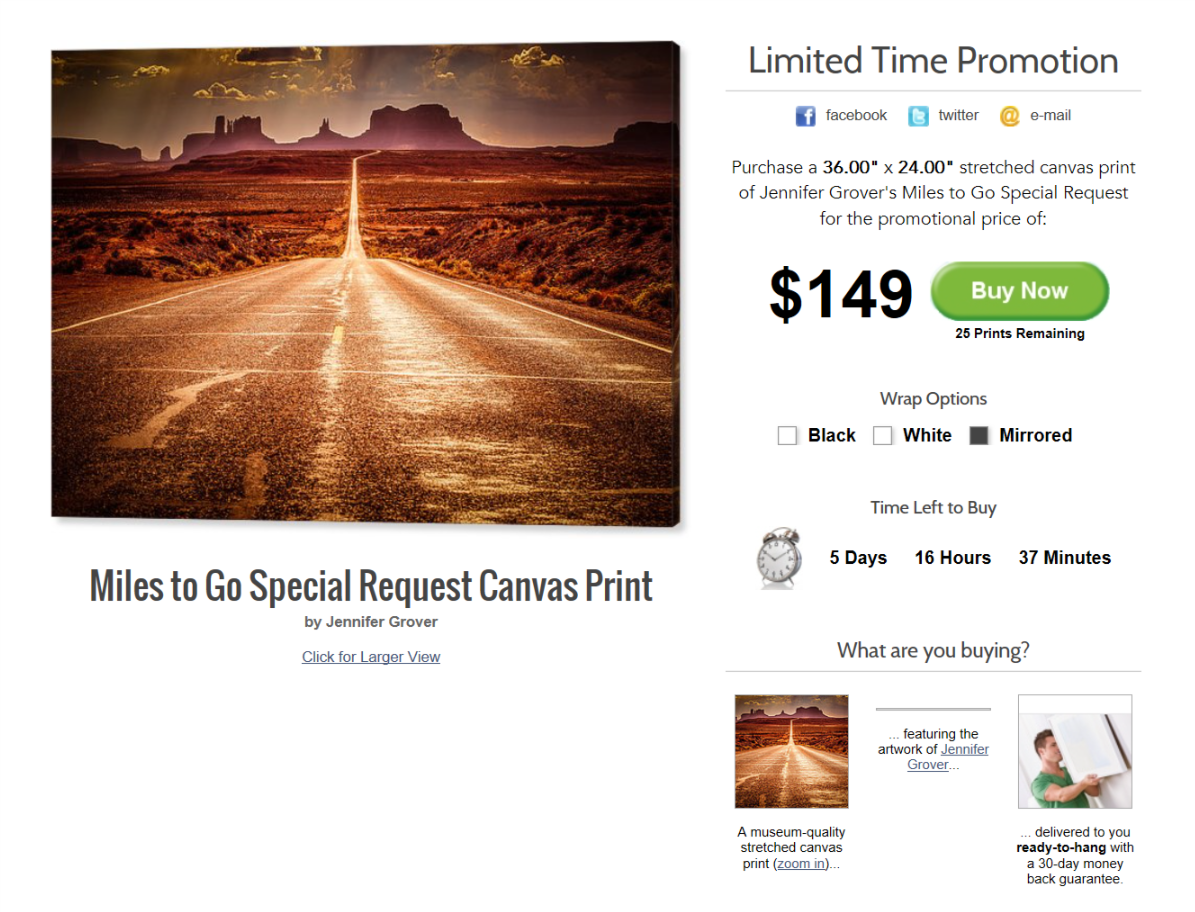 Special Promotion on my Best Selling Photo
