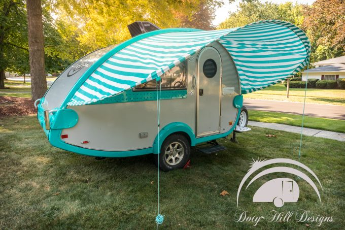 Glamping Goes to a New Level With Sunshades from Doty Hill Desgins